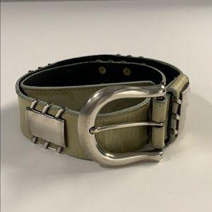 Vintage Patricia Green Details leather belt